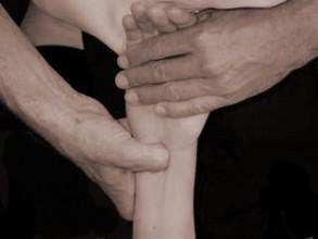 Palpatie hand